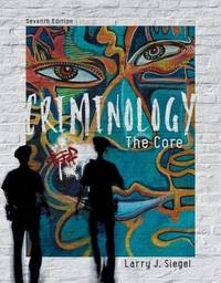 image of CRIMINOLOGY:THE CORE (LL)-TEXT