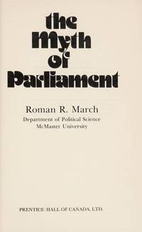 The Myth of Parliament