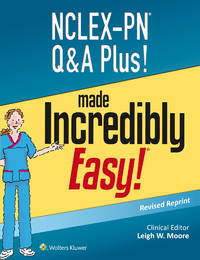 NCLEX-PN Q&A Plus! (Incredibly Easy! Series®) by  Lippincott Williams & Wilkins - Paperback - from Cloud 9 Books and Biblio.com
