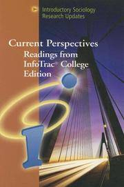 CURRENT PERSPECTIVES F/INFO COLL ED:INTRO/SOC RESRCH W/INFO