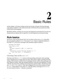 Drools JBoss Rules 5.0 Developers Guide
