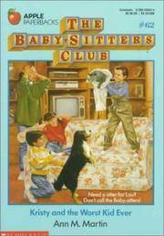 image of Kristy and the Worst Kid Ever (Baby-Sitters Club)
