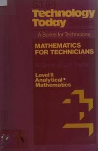 Mathematics for Technicians Level II Analytical Mathematics