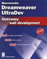 Macromedia Dreamweaver UltraDev Fast & Easy Web Development w/CD