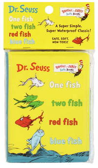 image of One Fish, Two Fish, Red Fish, Blue Fish(Vinyl Bath Book)