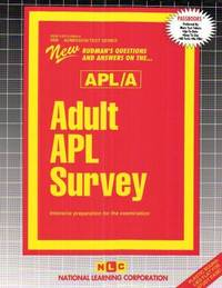 Adult Apl Survey (Apl/A), ATS-60B