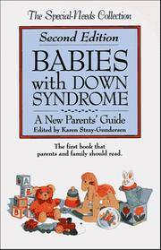 image of Babies with Down Syndrome: A New Parents Guide (Special Needs Collection)