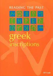 Greek Inscriptions (Reading the Past)