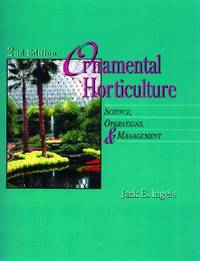 Ornamental Horticulture: Science, Operations and Management