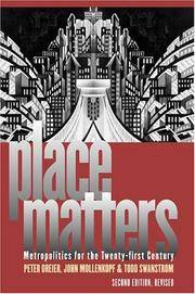 Place Matters: Metropolitics for the 21st Century Second Edition, Revised (Studies in Government & Public Policy) by  Todd  John; Swanstrom - Paperback - 2013-12-04 - from BooksEntirely and Biblio.com