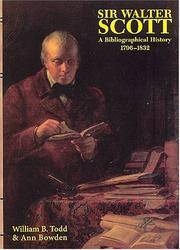 image of Sir Walter Scott: A Bibliographical History 1796-1832