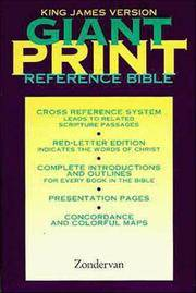 KJV Giant Print Reference Bible, Personal Size Value Edition, Burgundy Imitation Leather