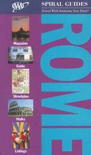 AAA Spiral Rome (AAA Spiral Guides: Rome)