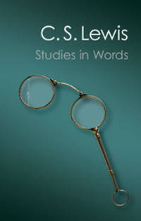 image of Studies in Words (Canto Classics)