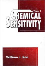 Chemical Sensitivity, Volume 4: Tools of Diagnosis and Method of Treatment