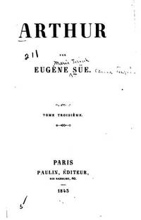 image of Arthur (La Bibliotheque noire) (French Edition)