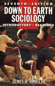 Down To Earth Sociology Seventh Edition