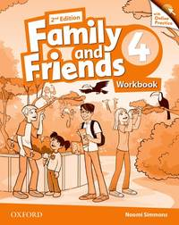 FAMILY AND FRIENDS 2E LEVEL 4 WORKBOOK WITH ONLINE PRACTICE by OD - Paperback - from BookVistas (SKU: OUP-9780194808651)