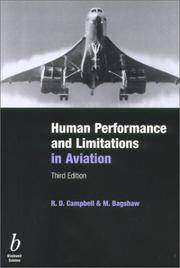 Human Performance & Limitations in Aviation, Third Edition