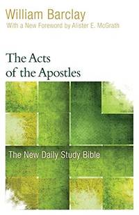 image of The Acts of the Apostles (New Daily Study Bible)