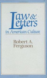 Law & Letters in American Culture