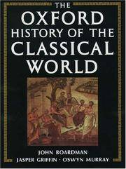 The Oxford History of the Classical World: Greece and the Hellenistic World by  Jasper Griffin and Oswyn Murray  John - Paperback - 1993 - from Browse Awhile Books and Biblio.com