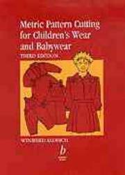 Metric Pattern Cutting For Children's Wear and Babywear, 4th Ed