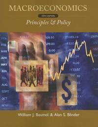 MACROECONOMICS PRINCIPLES AND POLICY 12ED (PB 2012)
