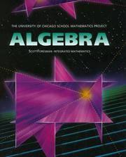 UCSMP Algebra Student Edition (University of Chicago School Mathematics Project)