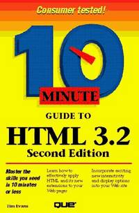10 Minute Guide to HTML 3.2