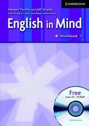 image of English in Mind 3 Workbook with Audio CD/CD ROM