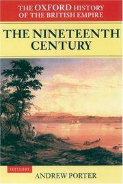 image of The Oxford History of the British Empire: Volume III: The Nineteenth Century