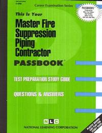 Master Fire Suppression Piping Contractor, C-3765