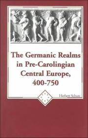 The Germanic Realms in Pre-Carolingian Central Europe, 400-750 (American University Studies)