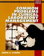 Common Problems in Clinical Laboratory Management