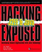 J2EE & Java: Developing Secure Web Applications with Java Technology (Hacking Exposed)