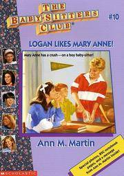 image of Logan Likes Mary Anne (The Baby-Sitters Club, No. 10)