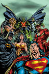 image of JLA: New World Order (DC Essential Edition)