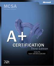 A+ Certification Training Kit (IT Professional)