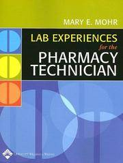 image of Lab Experiences for the Pharmacy Technician