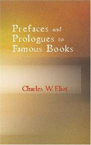 image of Prefaces and Prologues to Famous Books: With Introductions Notes and Illustrations