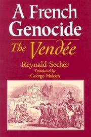 A French Genocide: The Vendee