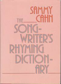 The Songwriter's Rhyming Dictionary (With SIGNED Letter)