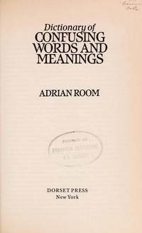 dictionary of confusable words room adrian