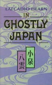 In Ghostly Japan (Tut L Books) by Lafcadio Hearn - Paperback - 1971-01 - from Ergodebooks (SKU: SONG0804809658)