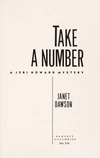 TAKE A NUMBER: A Jeri Howard Mystery