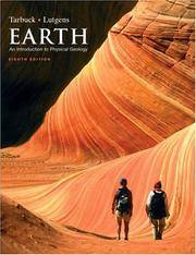 Earth: An Introduction to Physical Geology by  Edward J Tarbuck - Paperback - from Bonita (SKU: 0131148656.X)