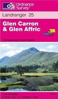 Glen Carron and Glen Affric (Landranger Maps) by Ordnance Survey - from Better World Books Ltd and Biblio.com