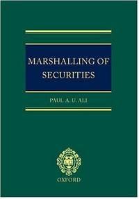 Marshalling of Securities