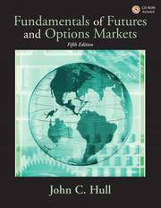 image of Fundamentals of Futures and Options Markets (5th Edition) (Prentice Hall Finance)